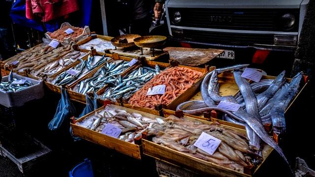 pesce fresco a Venezia