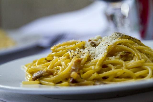 spaghetti alla carbonara a Venezia