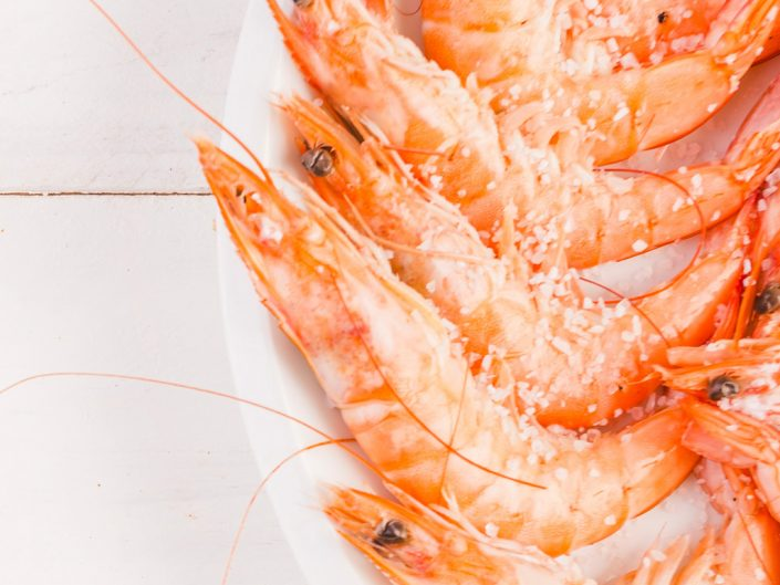 Saor prawns and shrimps Marciana Venice